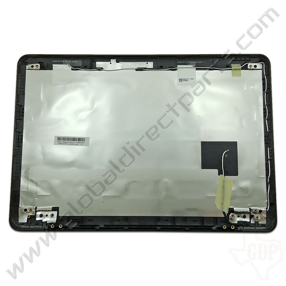 OEM Reclaimed Asus Chromebook C300M LCD Cover [A-Side] - Black