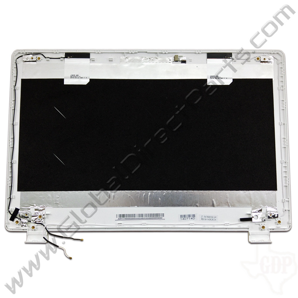 OEM Reclaimed Acer Chromebook 13 CB5-311 LCD Cover [A-Side] - White