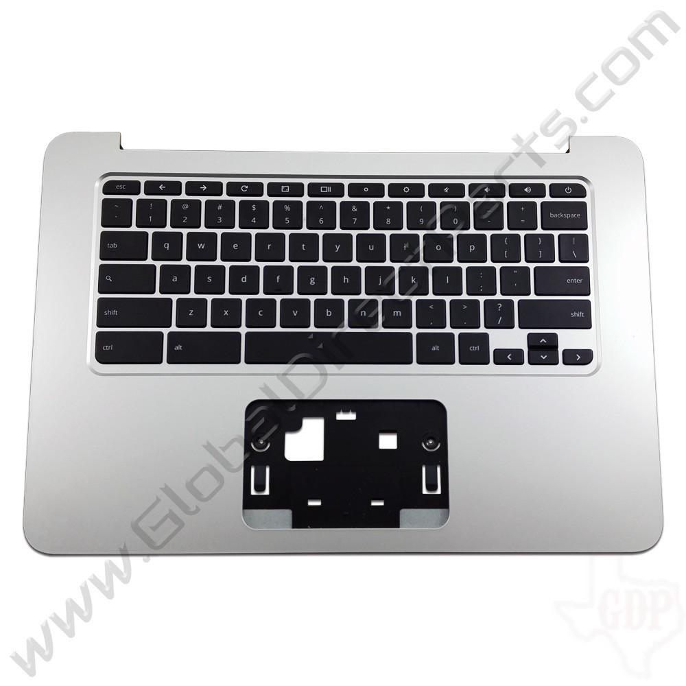 OEM HP Chromebook 14 G3, G4 Keyboard [C-Side] - Black [Black Strip] [788511-001]