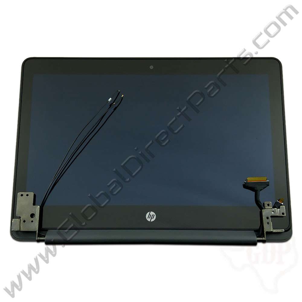 OEM HP Chromebook 11-V01, 11-V02 Complete LCD & Digitizer Assembly - Black