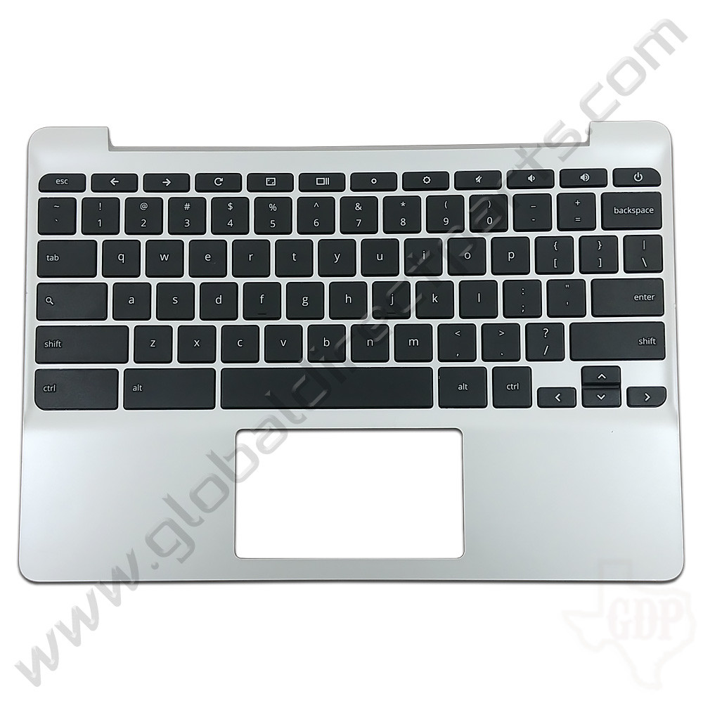 OEM Reclaimed HP Chromebook 11 G5, G5 Touch, 11-V011DX Keyboard [C-Side] - Black [900818-001]