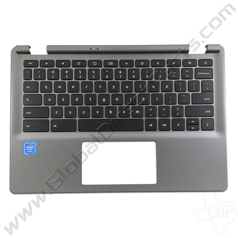 OEM Reclaimed Acer Chromebook C730 Keyboard [C-Side] - Black [EAZHQ008040]