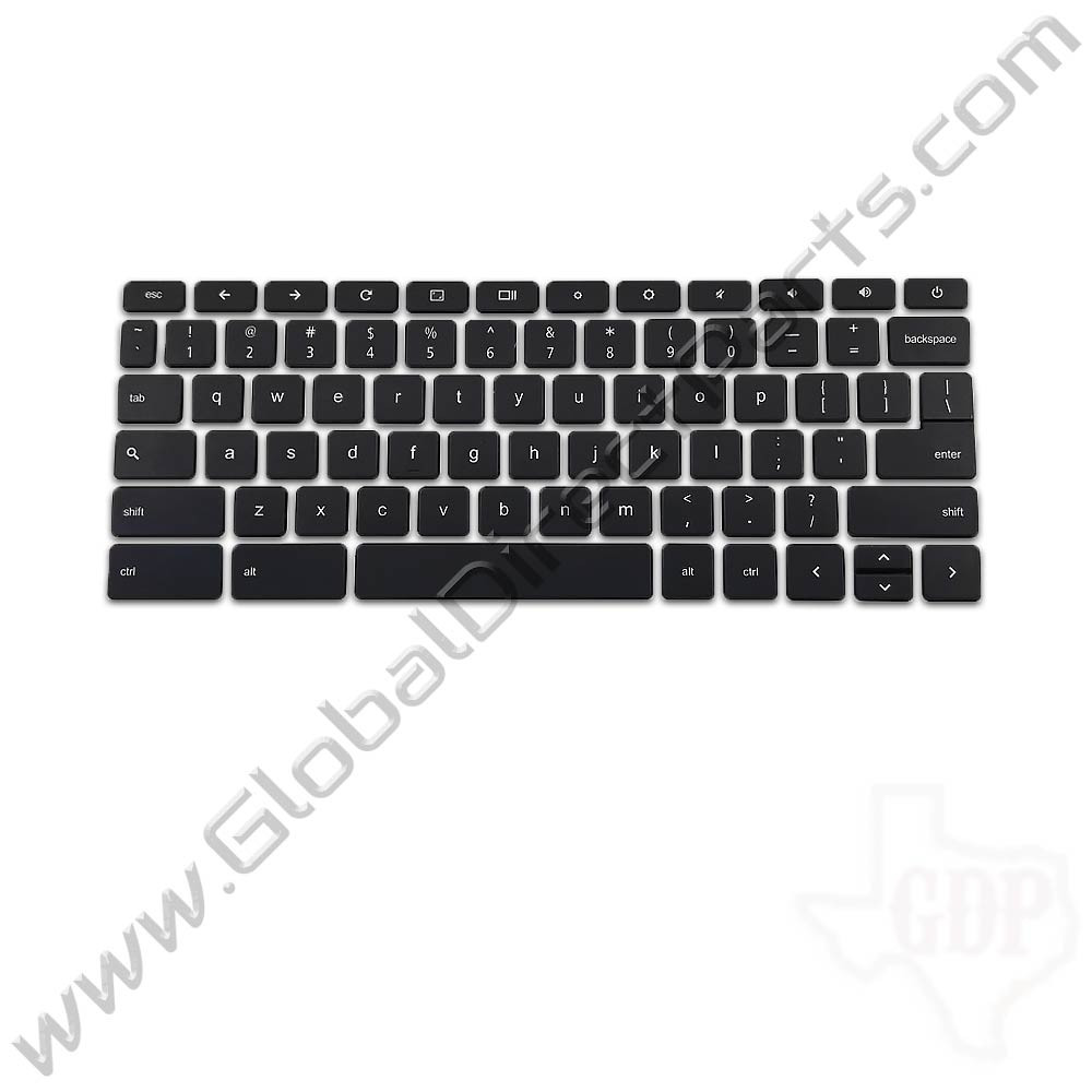 OEM Reclaimed Acer Chromebook U.S. Keyboard Key Set 1