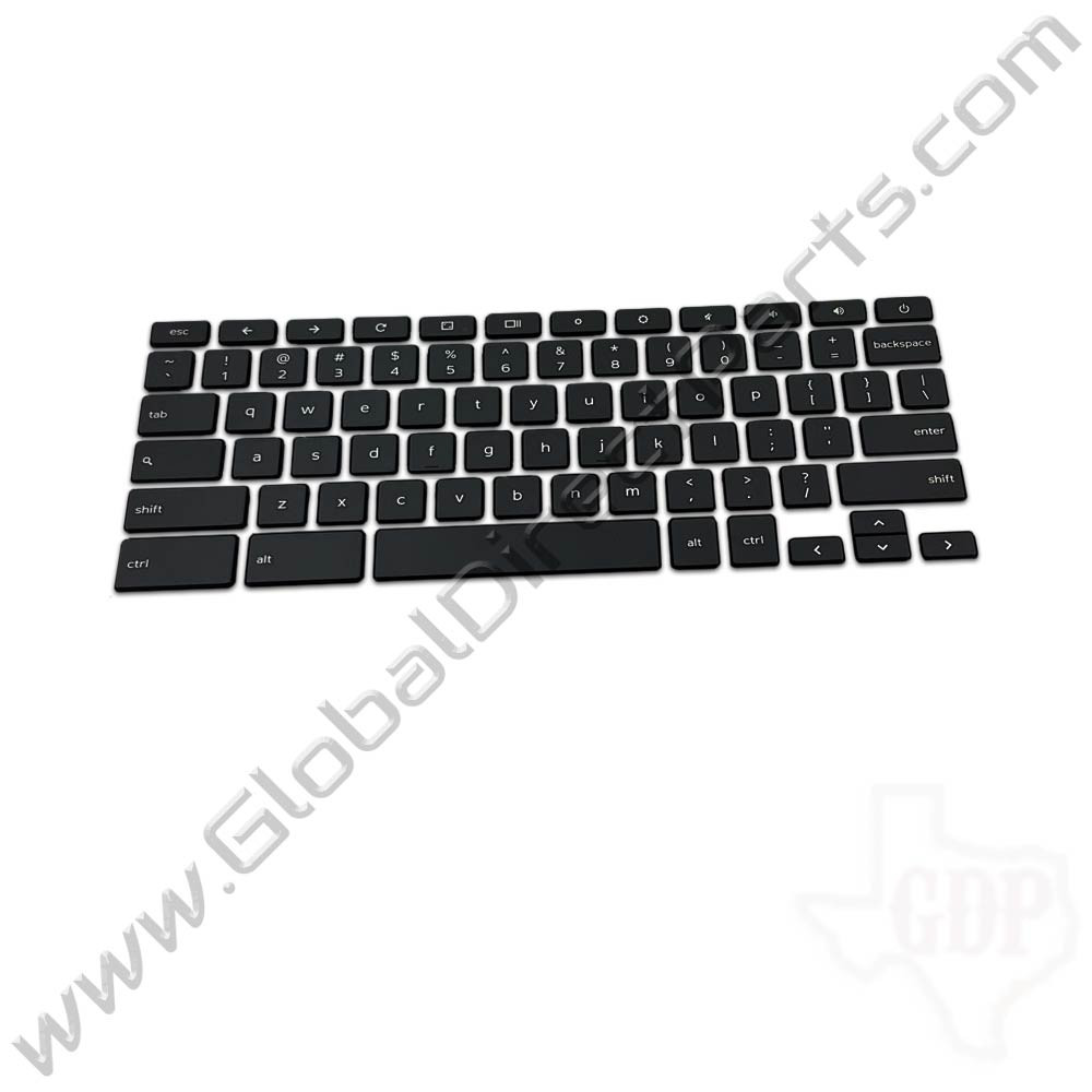 OEM Reclaimed Dell Chromebook 11 CB1C13 U.S. Keyboard Key Set