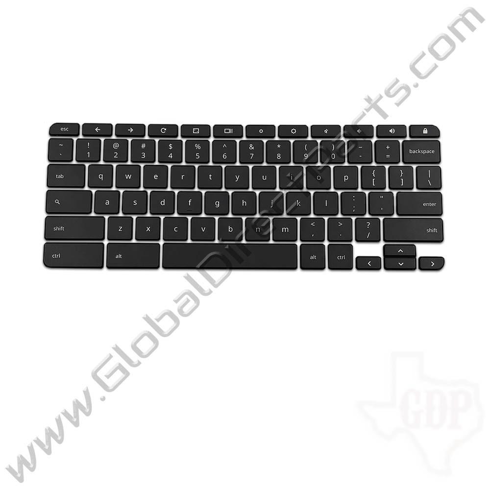 OEM Reclaimed Acer Chromebook U.S. Keyboard Key Set 2