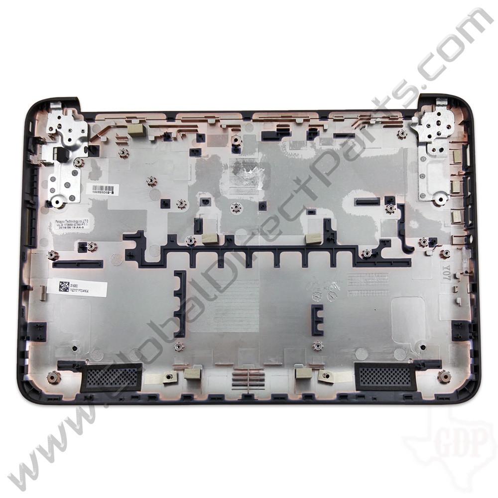 OEM Reclaimed HP Chromebook 11 G3, G4 Bottom Housing [D-Side] - Black [784191-001]