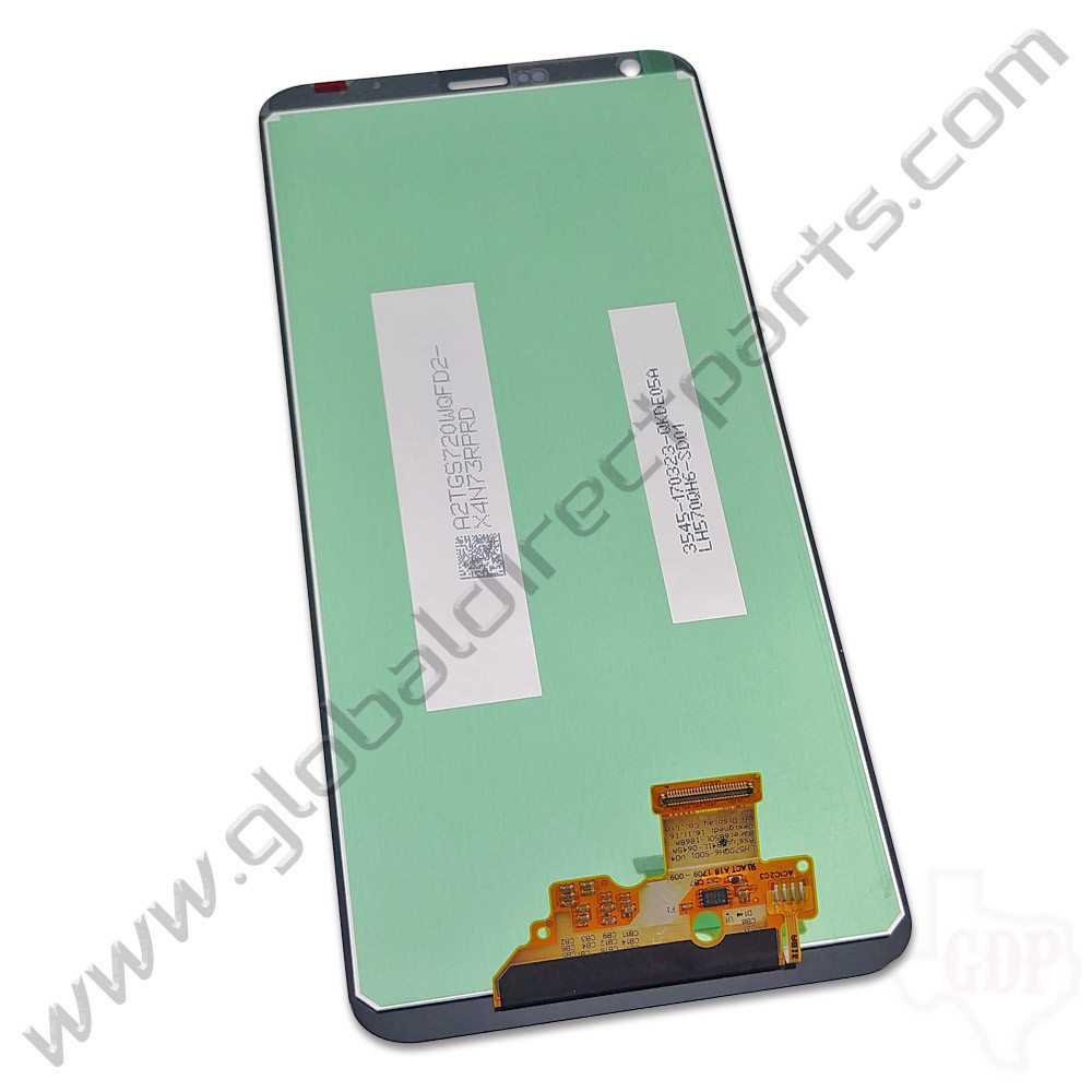 OEM LG G6 LCD & Digitizer Assembly - Silver