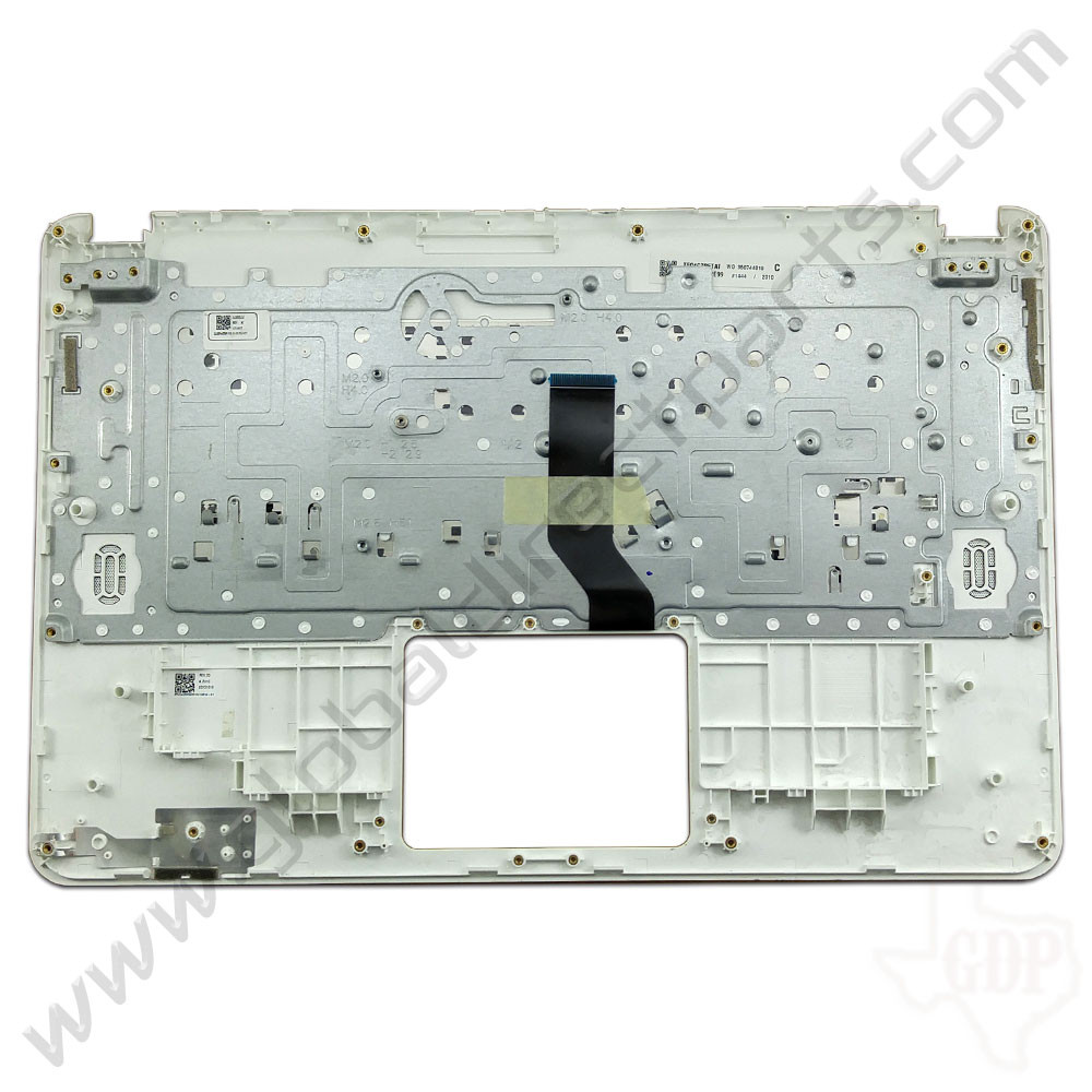 OEM Reclaimed Acer Chromebook 15 CB5-571 Keyboard [C-Side] - White [EAZRF003030]