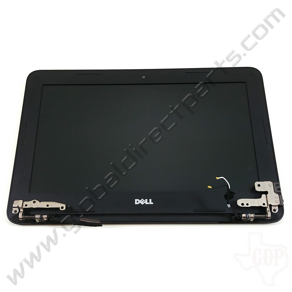 OEM Reclaimed Dell Chromebook 11 3180 Education Complete LCD Assembly - Black [Non-Touch]