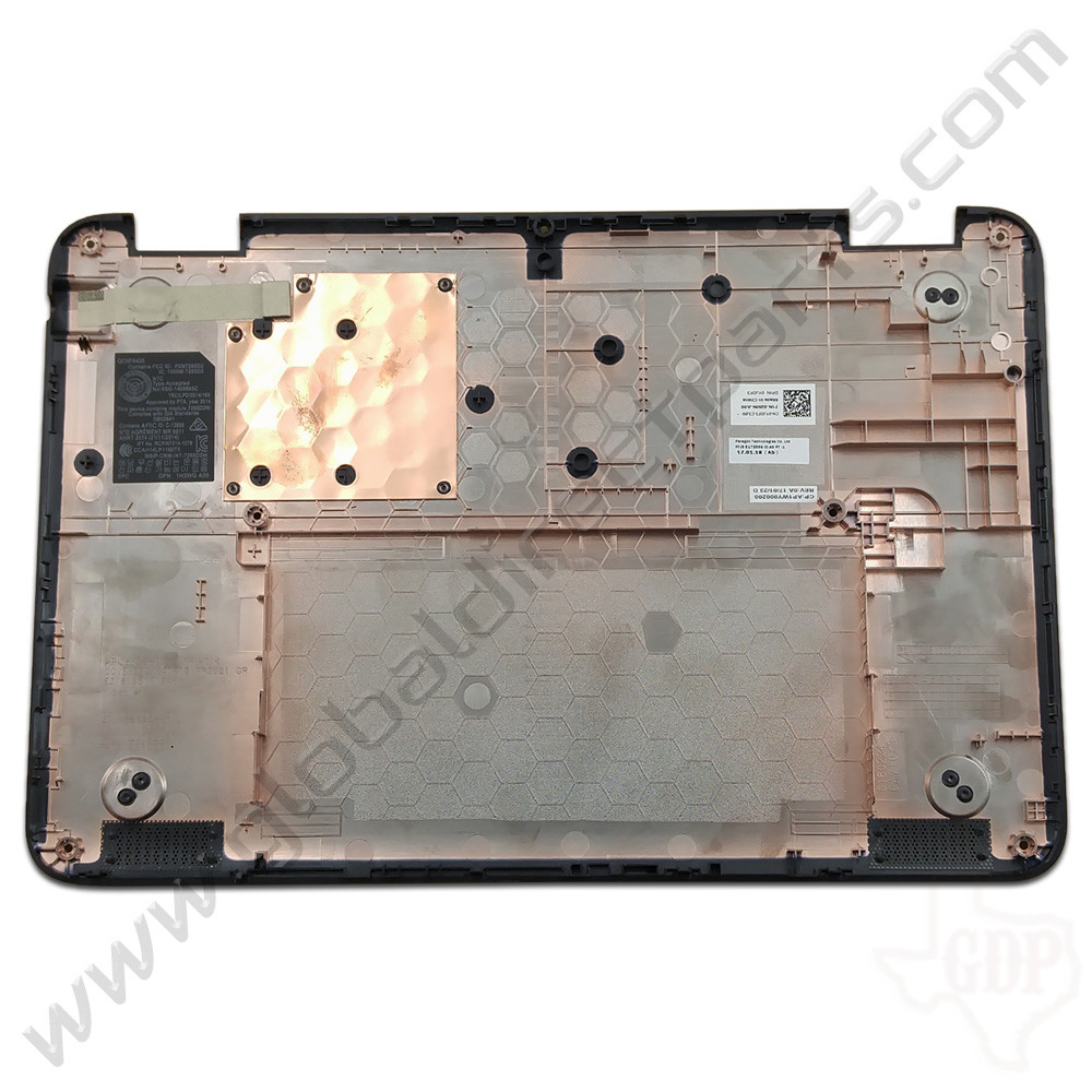 OEM Dell Chromebook 11 3180 Education Bottom Housing [D-Side] - Black