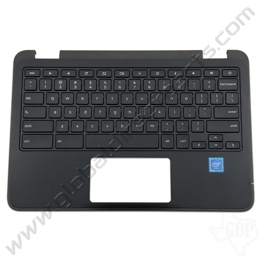 OEM Reclaimed Dell Chromebook 11 3180 Education Keyboard [C-Side] - Black