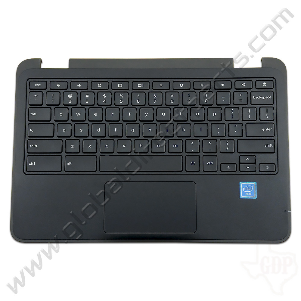 OEM Reclaimed Dell Chromebook 11 3180 Education Keyboard with Touchpad [C-Side] - Black