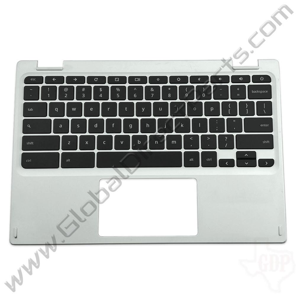 OEM Reclaimed Acer Chromebook 11 CB3-131 Keyboard [C-Side] - White [EAZHR00101A]