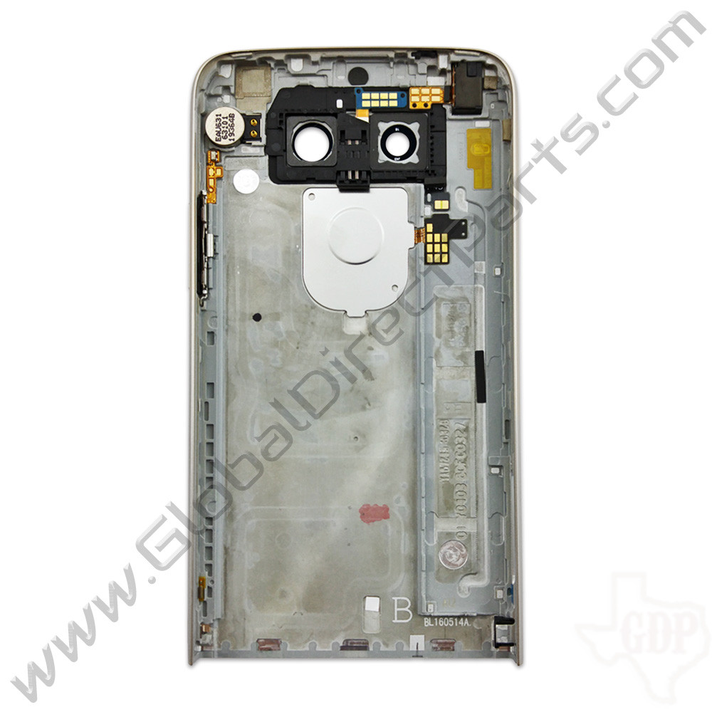 OEM LG G5 US992 Rear Housing - Silver