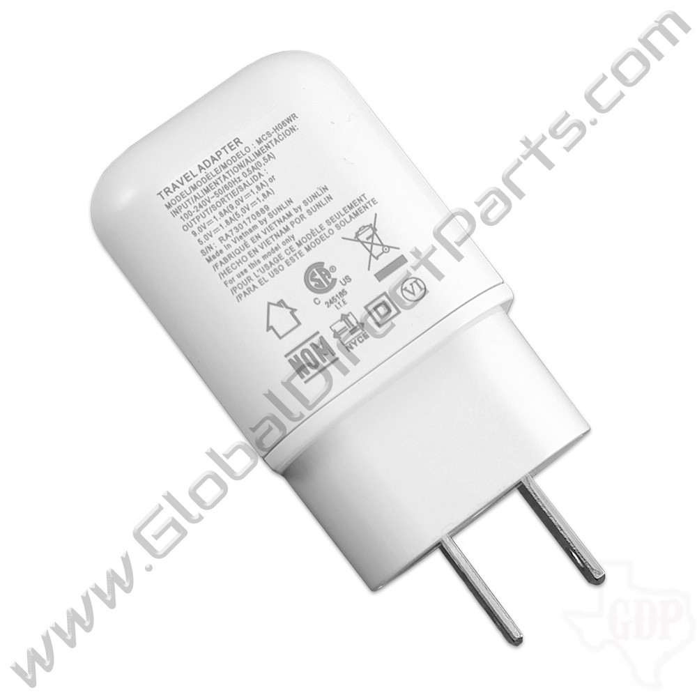 OEM LG USB Type-A Fast Charge Wall Charger Adapter