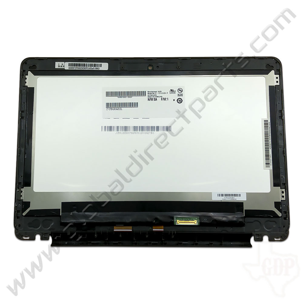 OEM Reclaimed HP Chromebook 11-V011DX LCD & Digitizer Assembly - Black [928083-001]