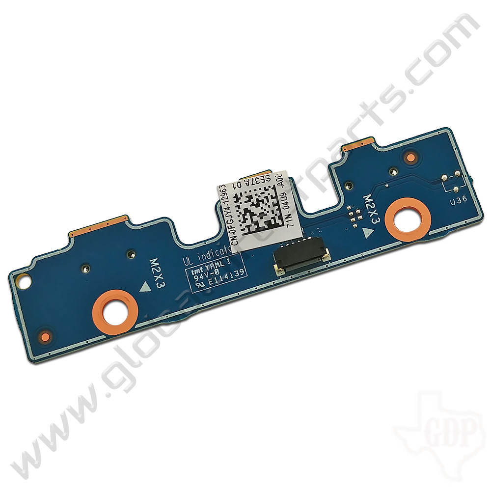 OEM Dell Chromebook 11 3189, Latitude 3189 Education Power / Volume Key PCB