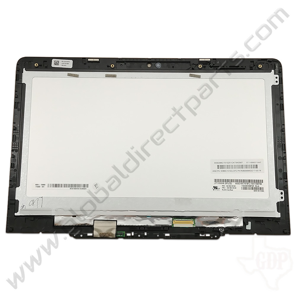 OEM Reclaimed Lenovo N23 Yoga Chromebook LCD & Digitizer Assembly - Gray