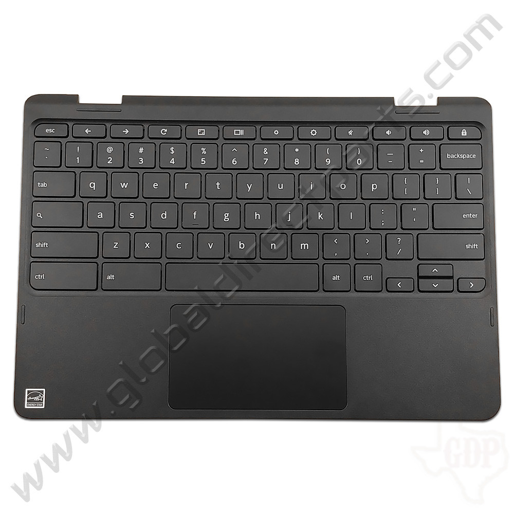 OEM Reclaimed Lenovo N23 Yoga Chromebook Keyboard with Touchpad [C-Side] - Black