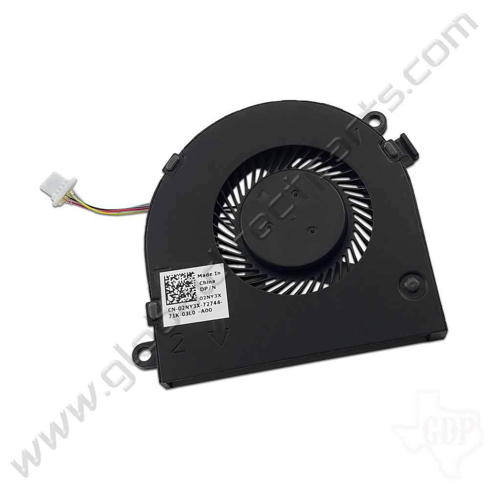 OEM Dell Chromebook 13 3380 Education Cooling Fan