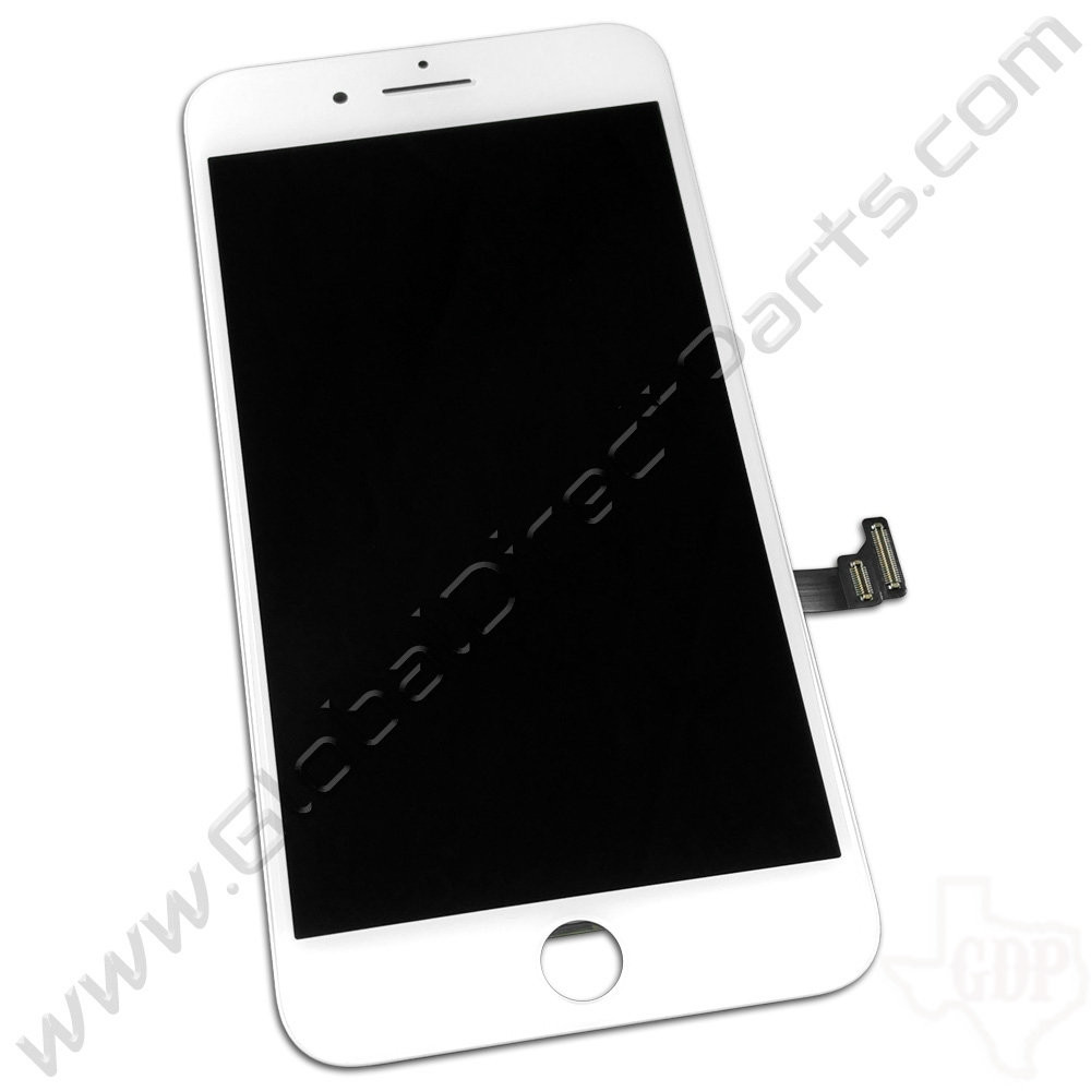 OEM Apple iPhone 8 Plus Complete LCD & Digitizer Assembly - White