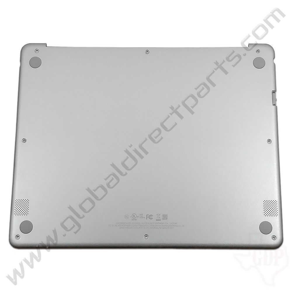 OEM Samsung Chromebook Plus XE513C24 Bottom Housing [D-Side] - Silver