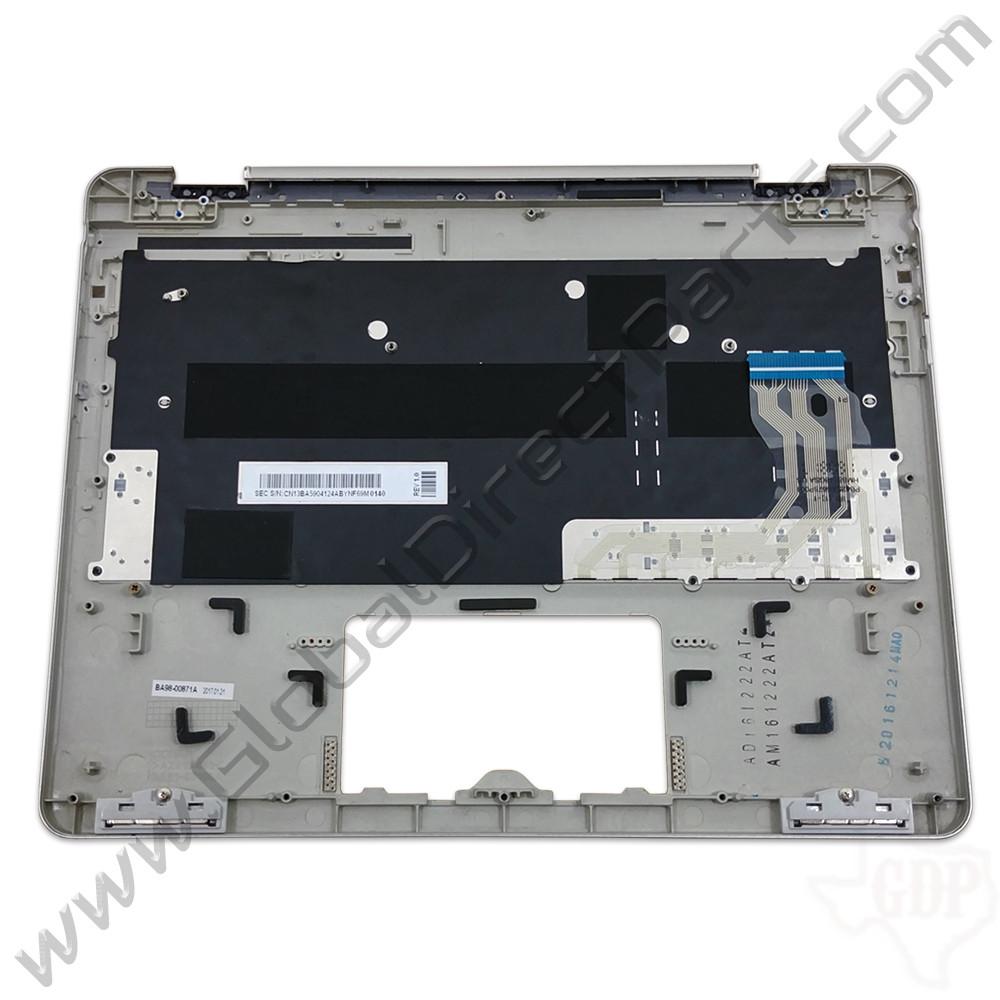 OEM Samsung Chromebook Plus XE513C24 Keyboard [C-Side] - Silver