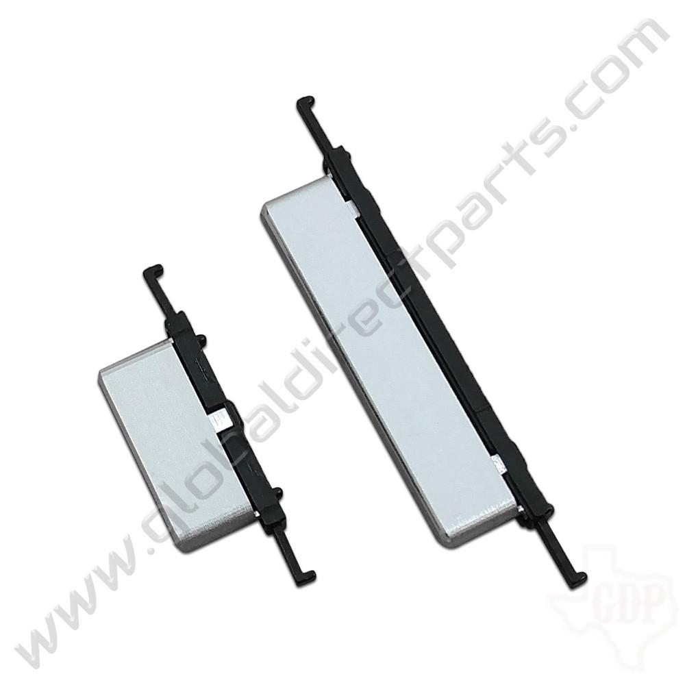OEM Samsung Chromebook Plus XE513C24 Power & Volume Keys - Silver