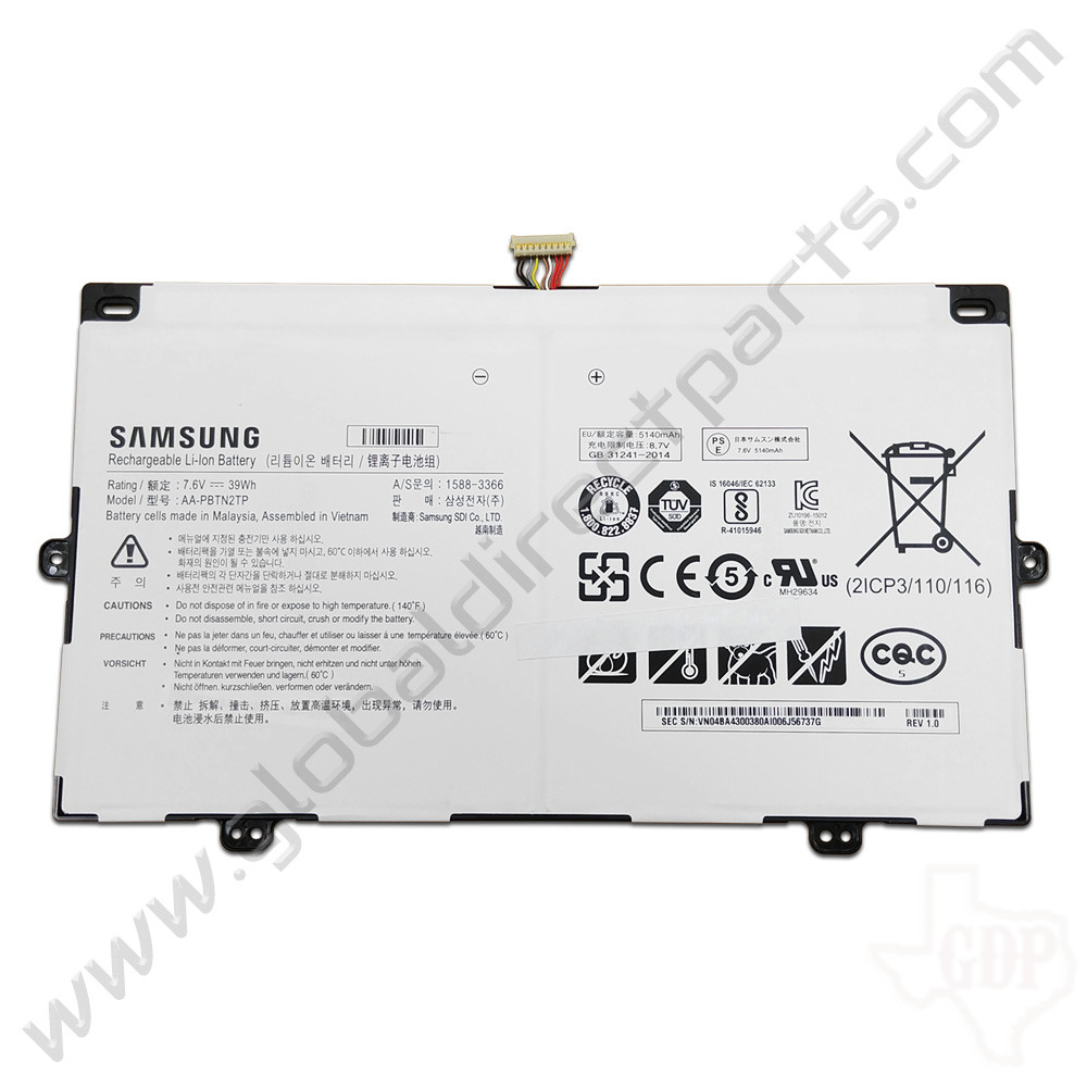 OEM Samsung Chromebook Plus XE513C24 Battery