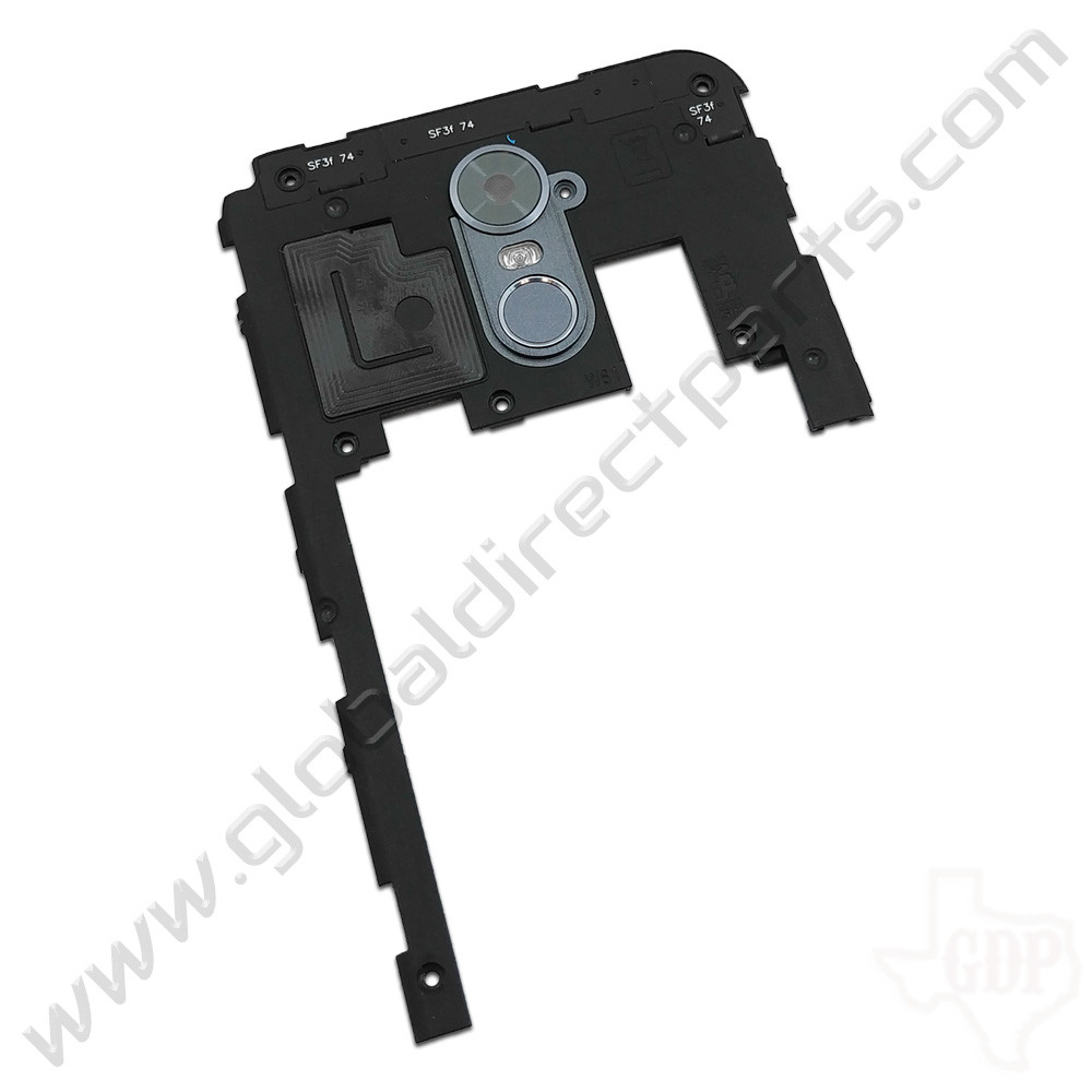 OEM LG Stylo 3 Plus TP450 Upper Rear Housing - Gray