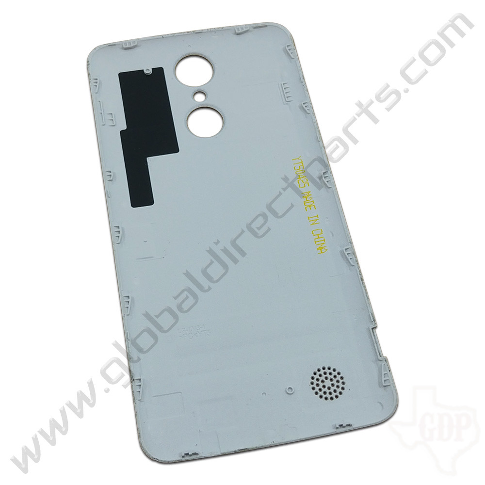 OEM LG Aristo MS210 Battery Cover - Silver