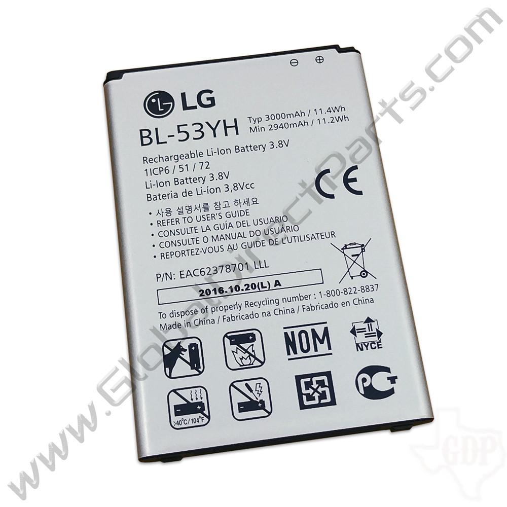 OEM LG G3 D850, D851, D855, VS985, LS990 Battery [BL-53YH]