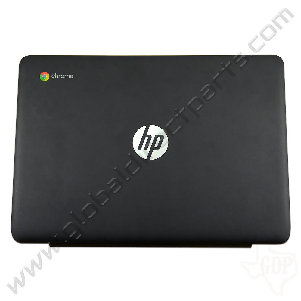 OEM Reclaimed HP Chromebook 11 G5, G5 Touch LCD Cover [A-Side] - Black
