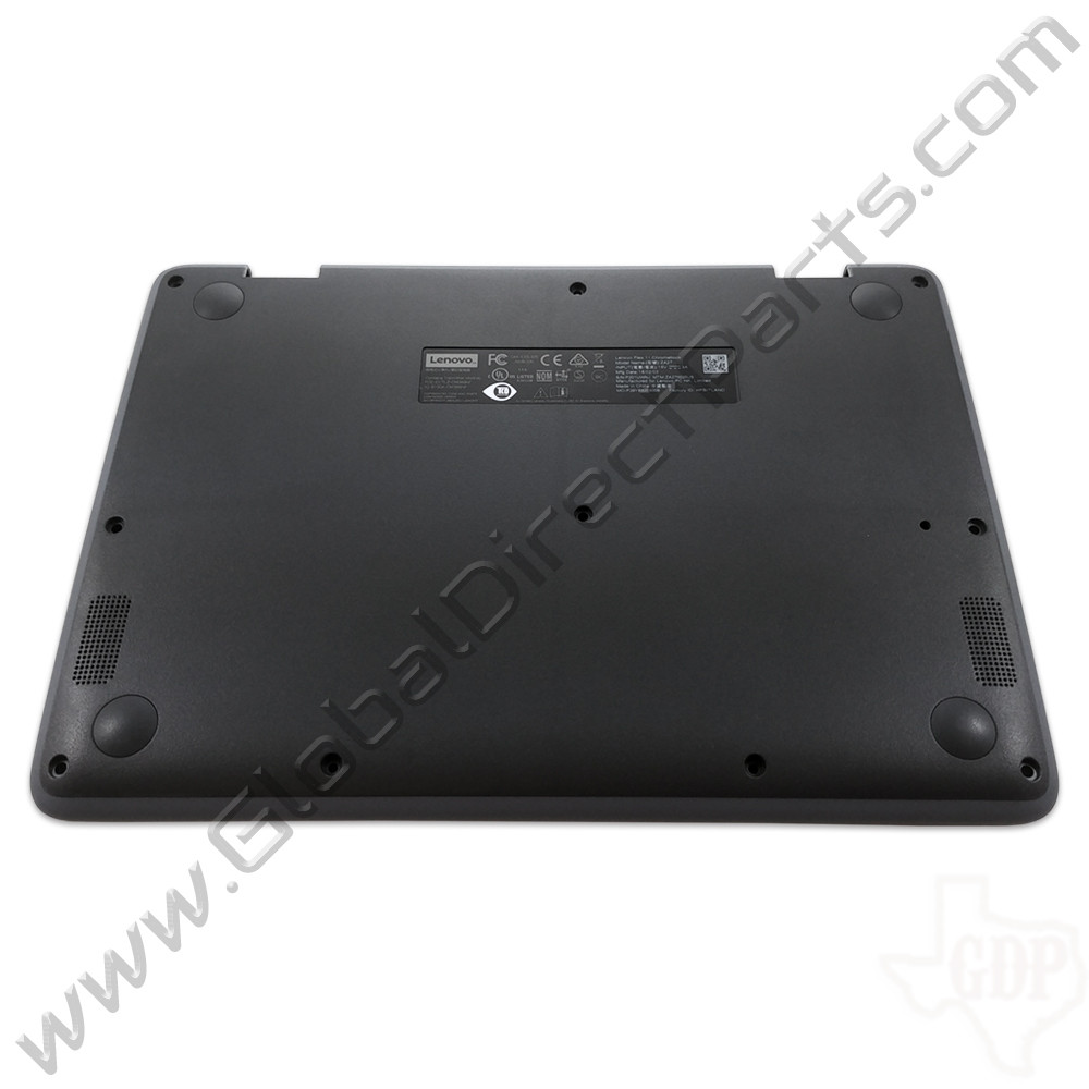 OEM Lenovo Flex 11 Chromebook ZA27 Bottom Housing [D-Side] - Gray