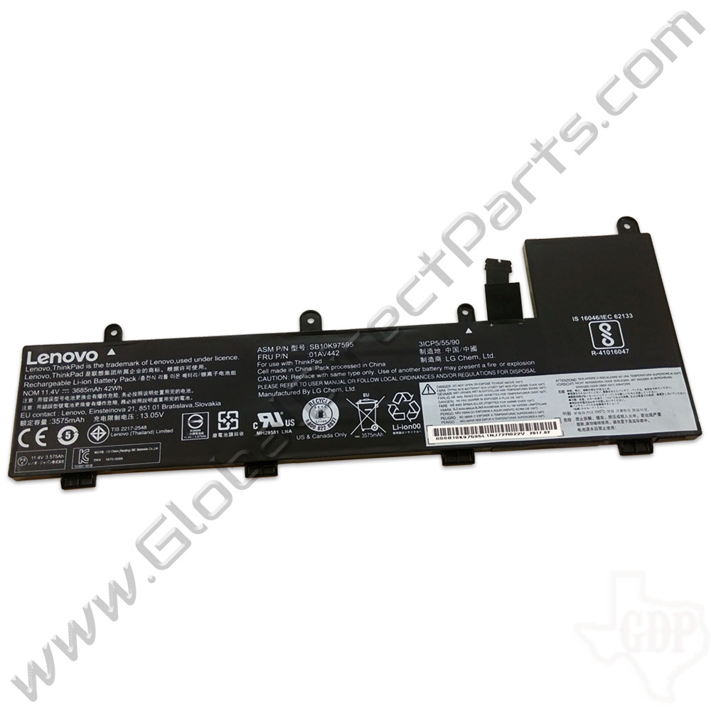OEM Lenovo ThinkPad Yoga 11e Chromebook 4th Gen Battery