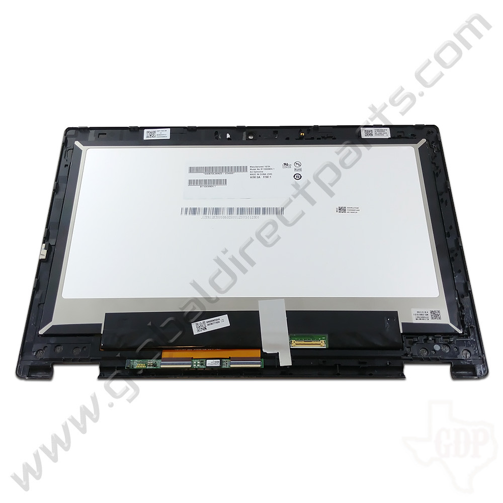 OEM Reclaimed Acer Chromebook C738T, CB5-132T LCD & Digitizer Assembly - Black