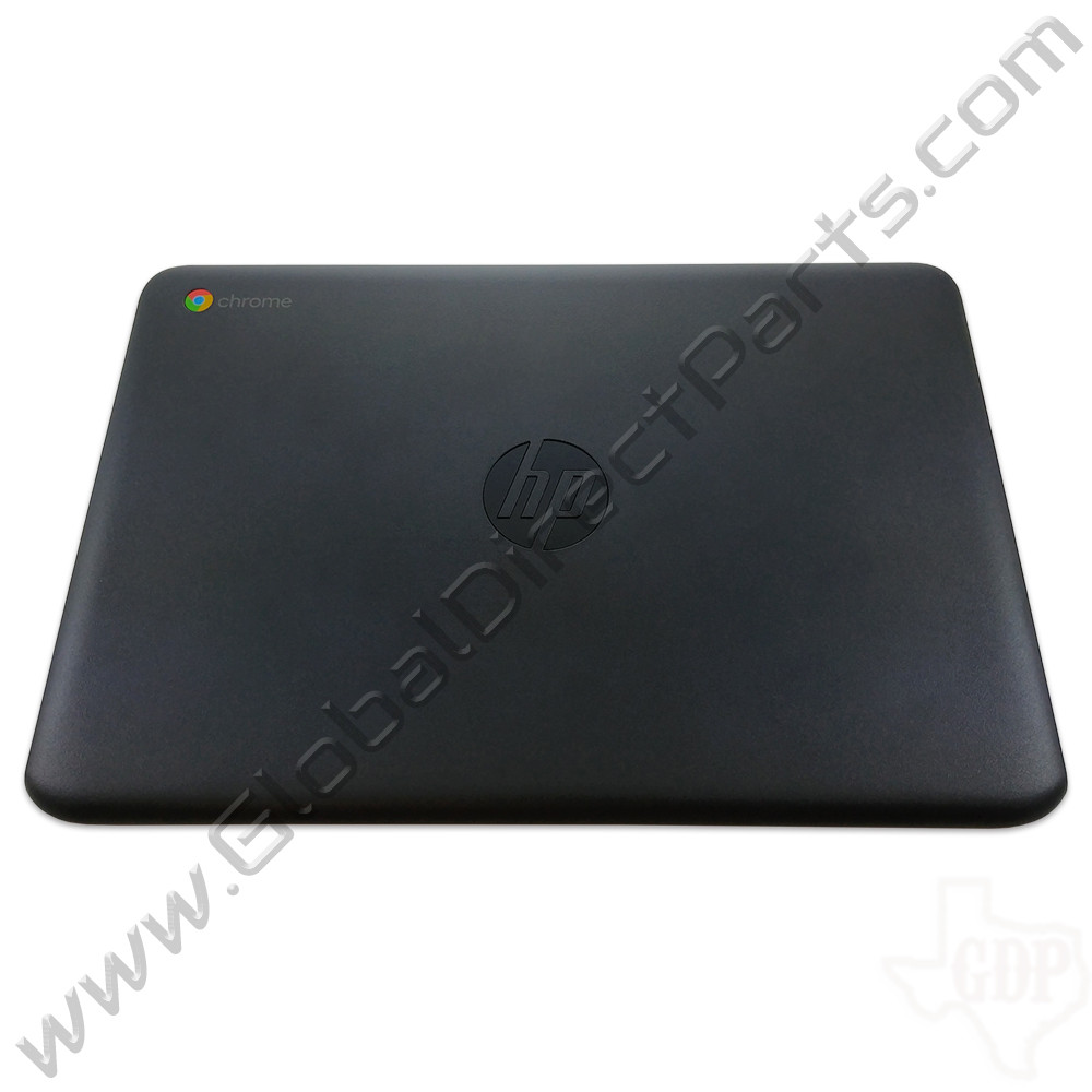 OEM HP Chromebook 11 G6 EE, 11A G6 EE LCD Cover [A-Side] - Gray [Black Bumper]