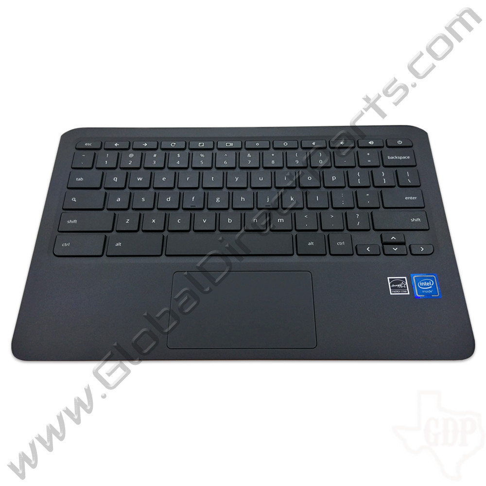 OEM Reclaimed HP Chromebook 11 G6, 11A G6 Education Edition Keyboard with Touchpad [C-Side] - Gray