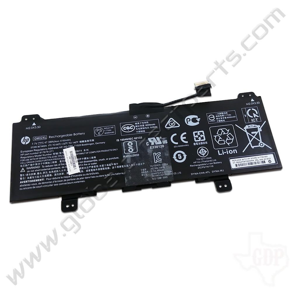 OEM HP Chromebook 14 G5, 11 G6 EE,  G7 EE, 11A G6 EE, x360 11 G1 EE, G2 EE Battery [GM02XL]