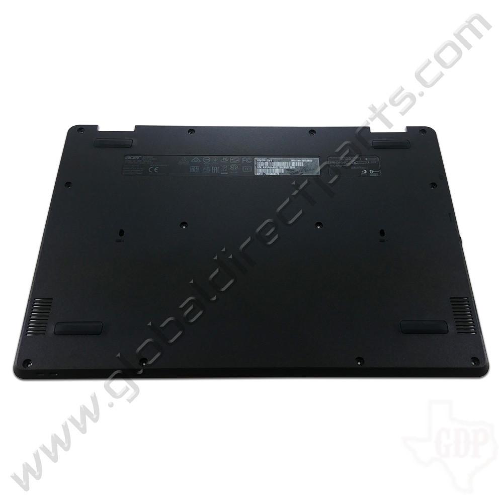 OEM Reclaimed Acer Chromebook Spin 11 R751T Bottom Housing [D-Side] - Black