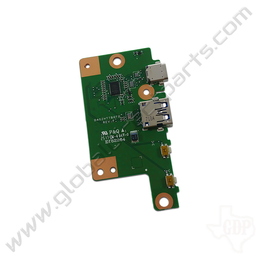 OEM Acer Chromebook Spin 11 R751T Type-C Charging, USB & Volume Key PCB