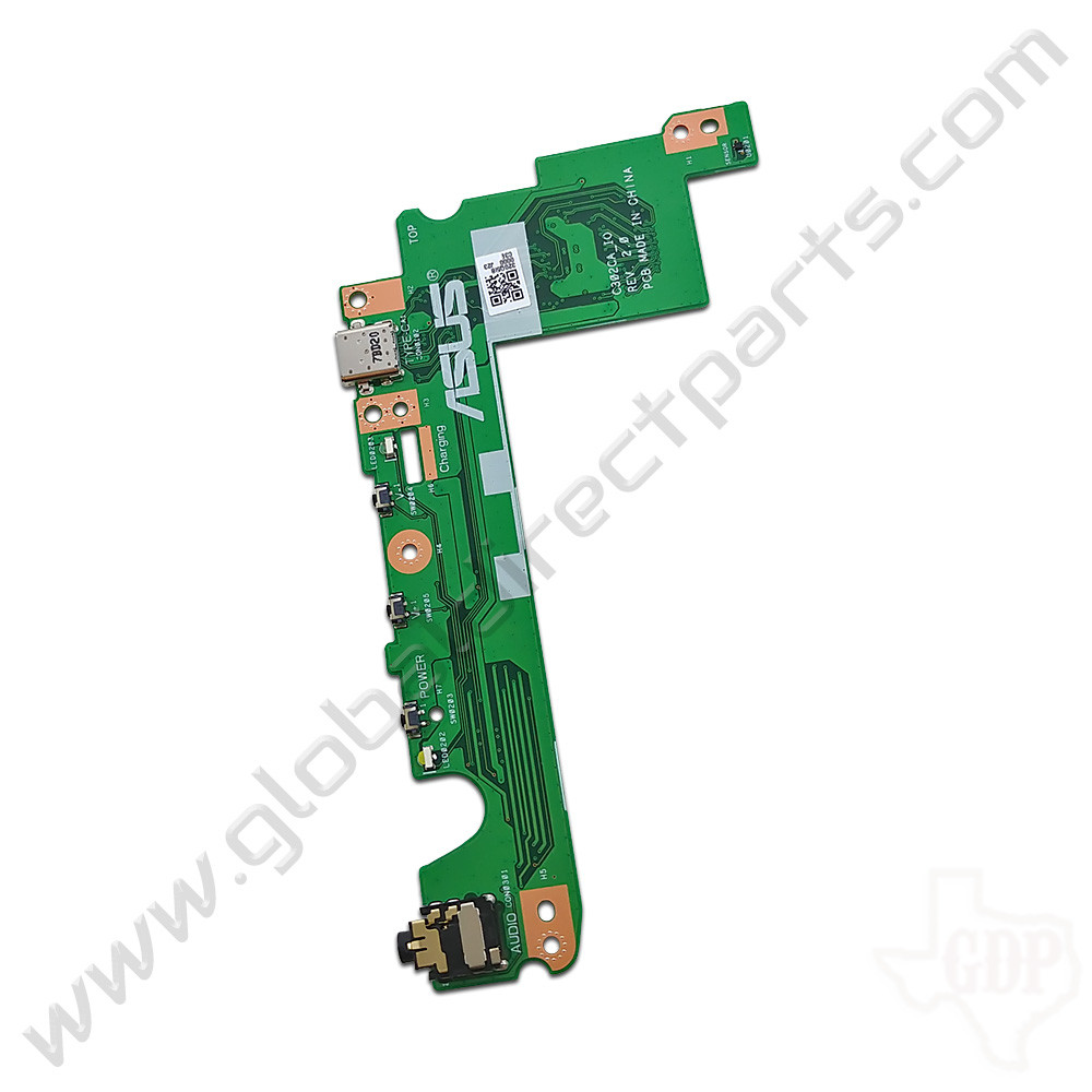 OEM Asus Chromebook Flip C302C USB, Power & Volume Key with Audio Jack PCB