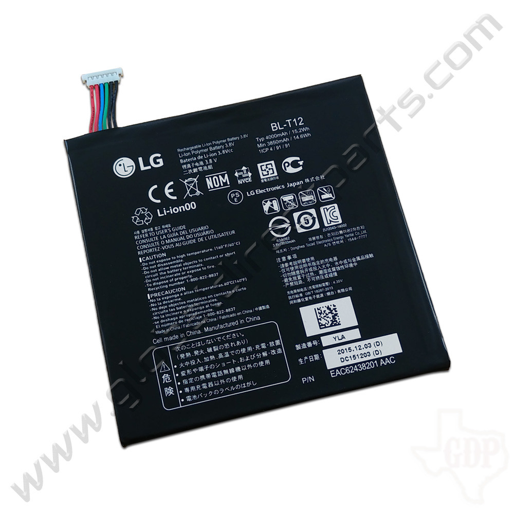 OEM LG G Pad 7.0 Battery [BL-T12] [EAC62438201]