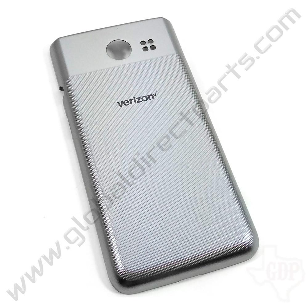 OEM LG Exalt LTE VN220 Battery Cover - Silver [MCK69420301]