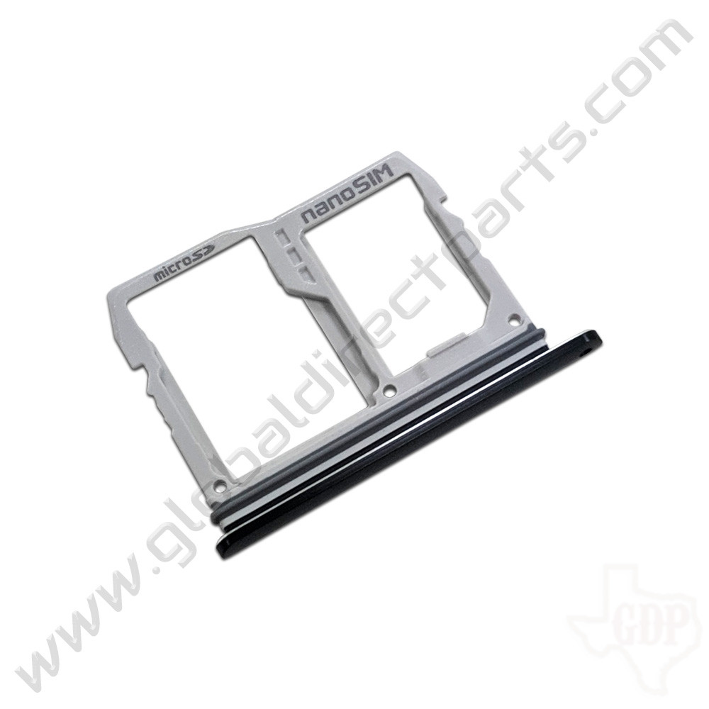 OEM LG G8 ThinQ G820 SIM Card Tray - Black [ABN76138101]