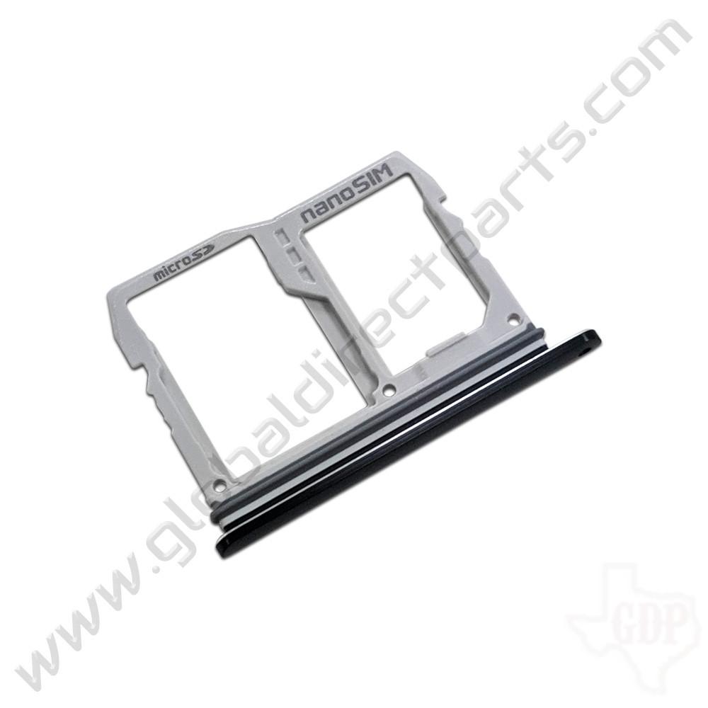 OEM LG V40 ThinQ V405 SIM Card Tray - Black [ABN75659901]