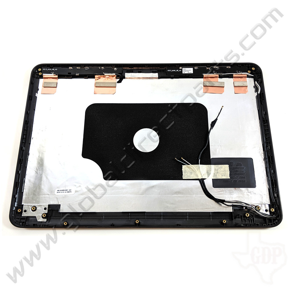 OEM Reclaimed Dell 13 3380 Education Touch LCD Cover [A-Side] - Gray [Windows]