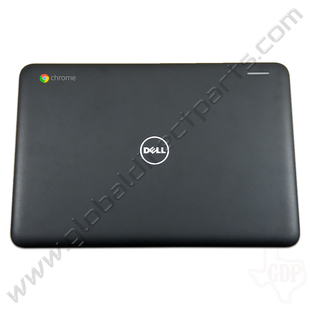 OEM Reclaimed Dell Chromebook 11 3180 Education LCD Cover [A-Side] - Black [Touch]