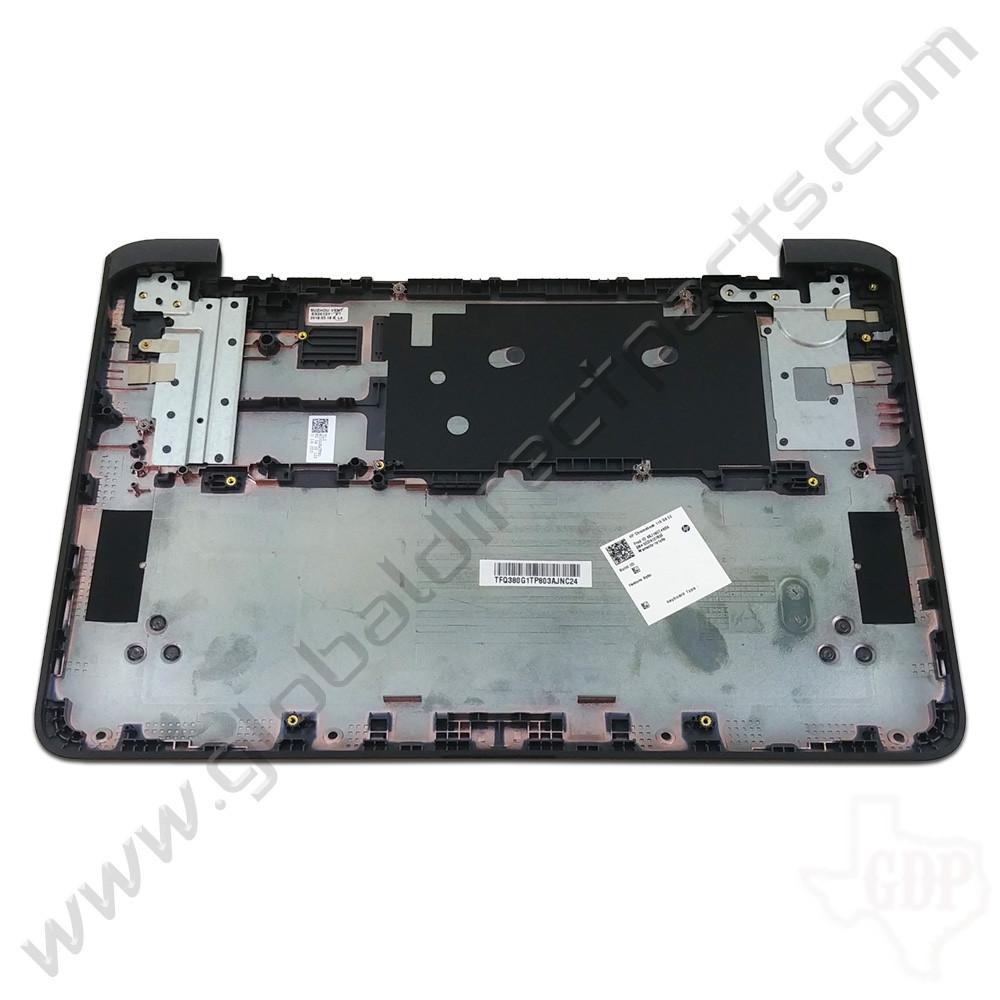 OEM HP Chromebook 11A G6 EE Bottom Housing [D-Side] - Gray [Black Bumper]