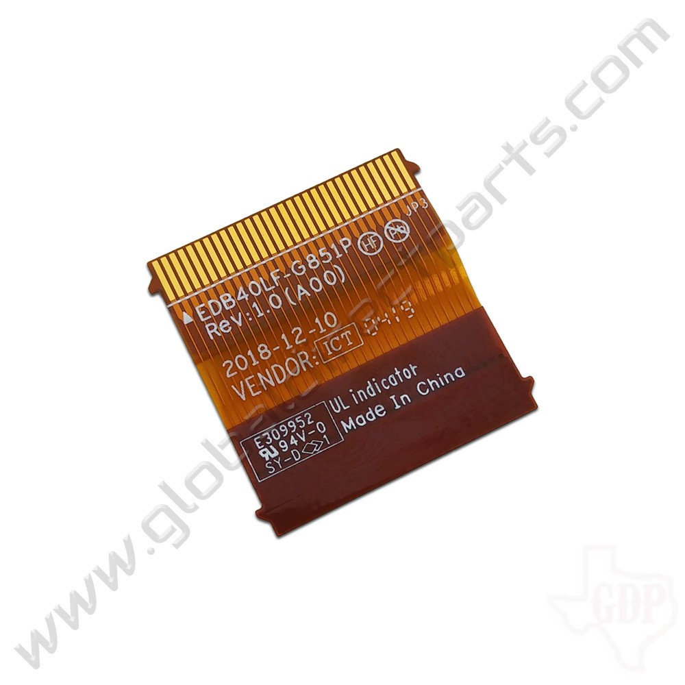 OEM Dell Chromebook 14 3400 Education Motherboard Connector Flex [Keyboard]